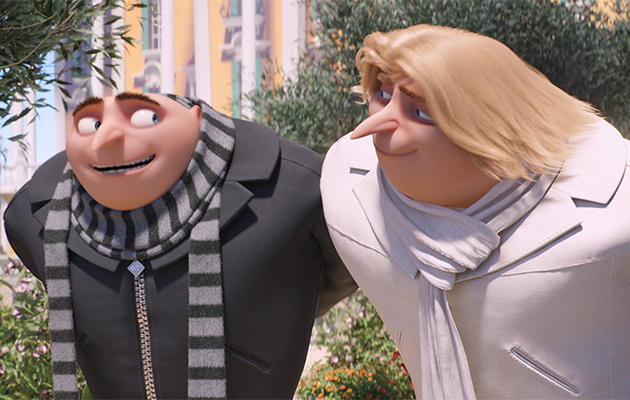 Despicable Me 3 Gru and Dru Steve Carell