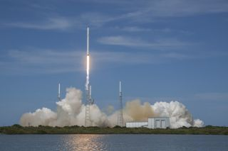 Falcon 9 Launches Dragon to ISS, April 2015