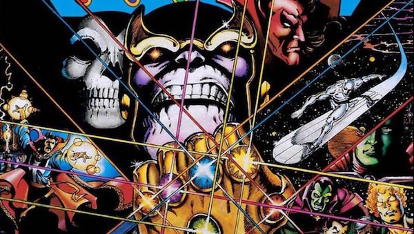 Thanos and his Infinity Stones