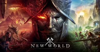 Marketing image for Amazon's new world MMORPG