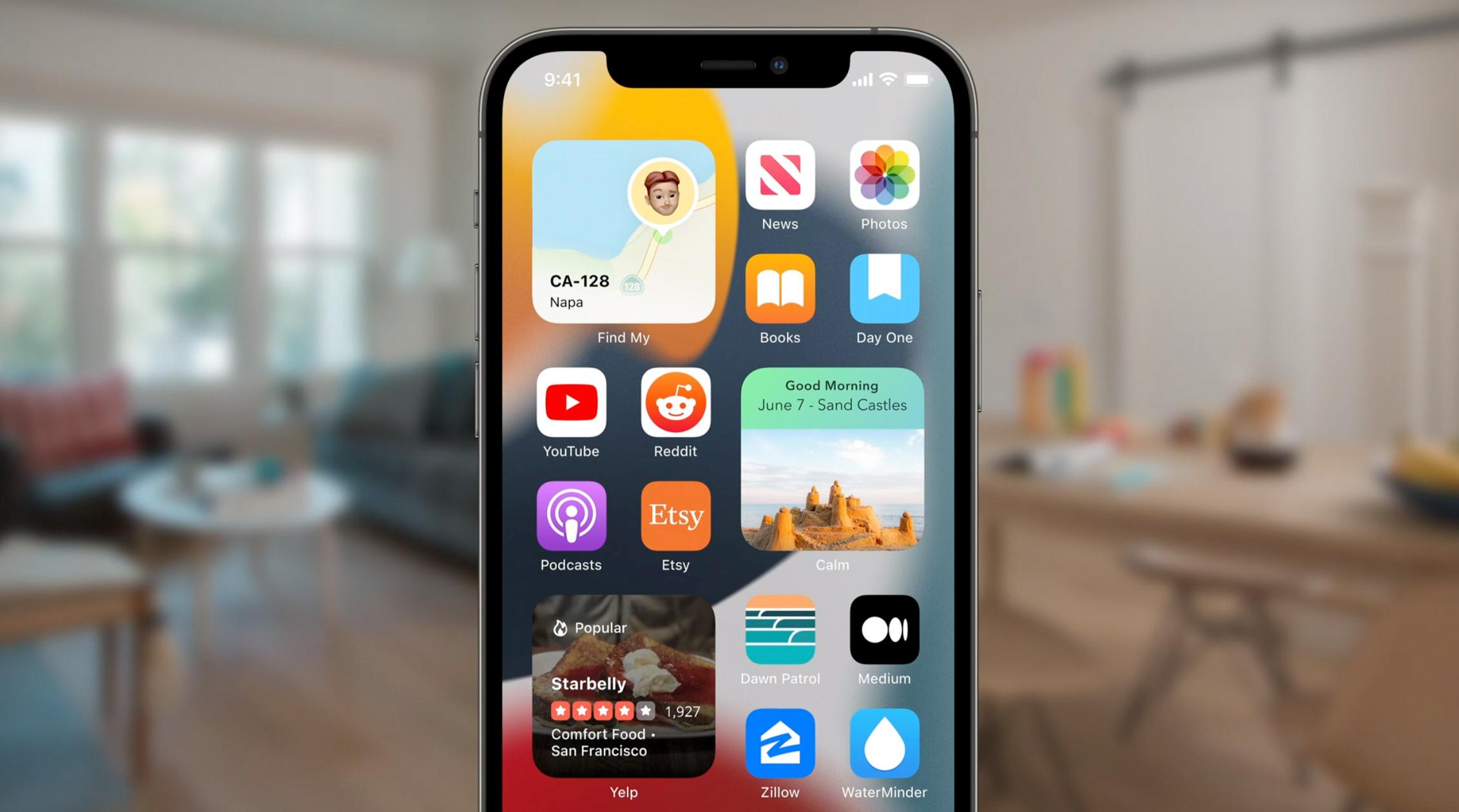 Enfoque iOS 15