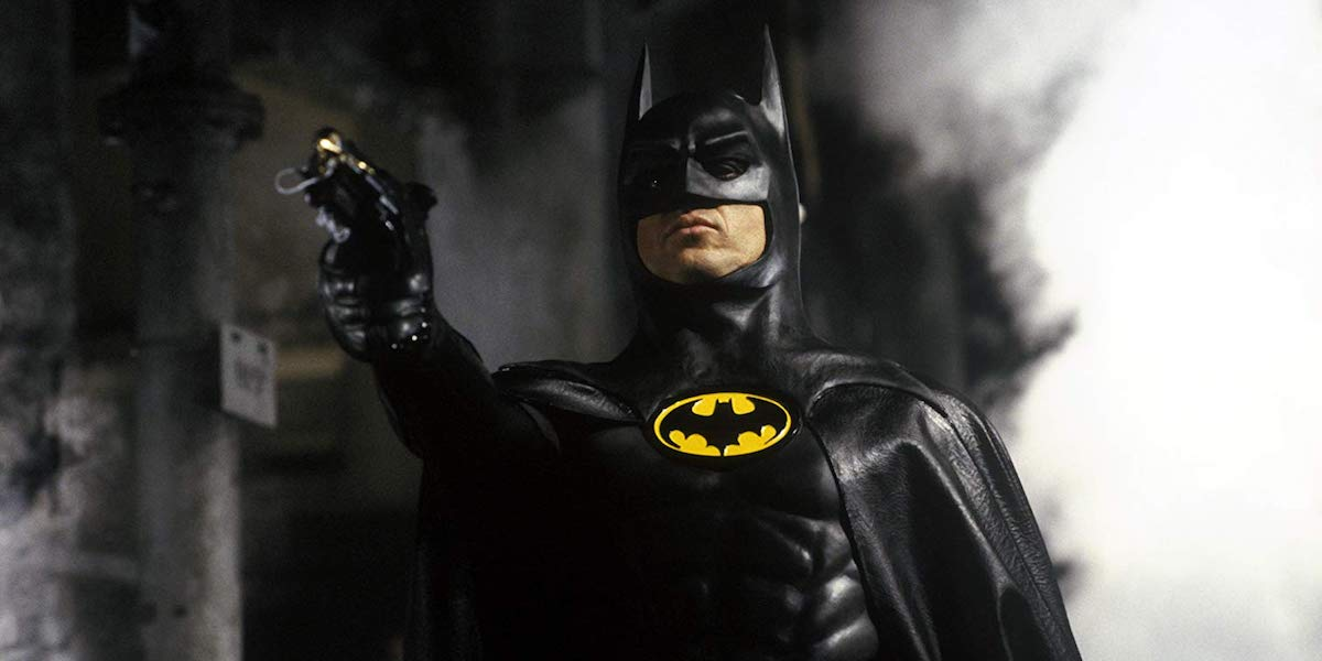 Michael Keaton as Batman in 1989 movie