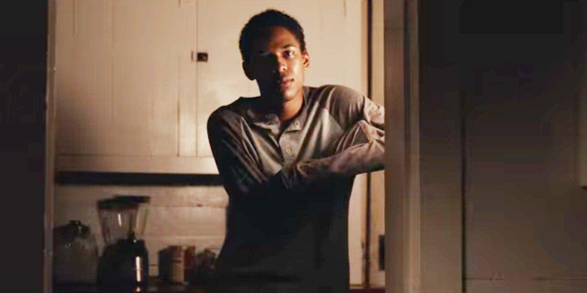 Kelvin Harrison Jr in It Comes At Night