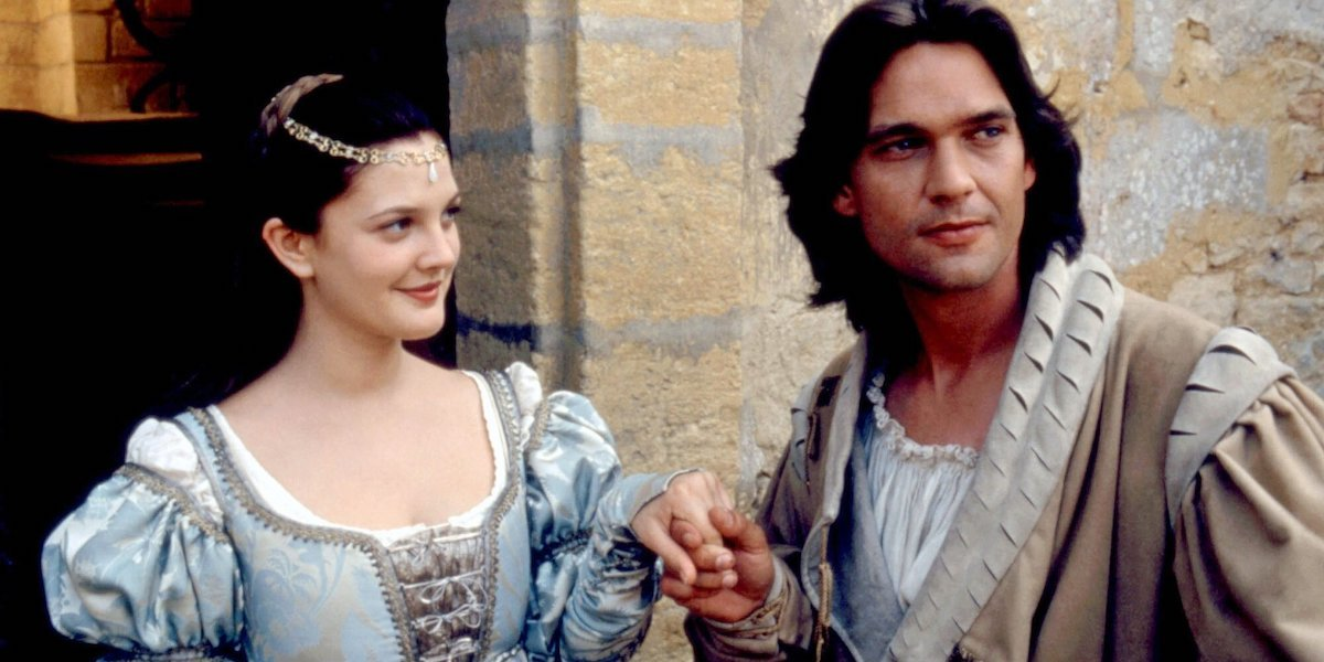 Drew Barrymore and Dougray Scott in Ever After