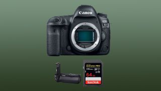 Save $1,200 on Canon 5D Mark IV + battery grip + more in great holiday deal