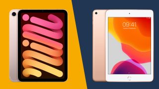 iPad mini (2021) vs iPad mini (2019)