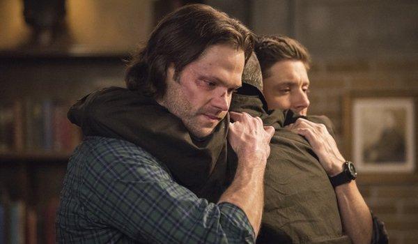 supernatural 300th episode sam dean john hug the cw