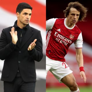 Mikel Arteta was full of praise for David Luiz, who will leave Arsenal at the end of the season