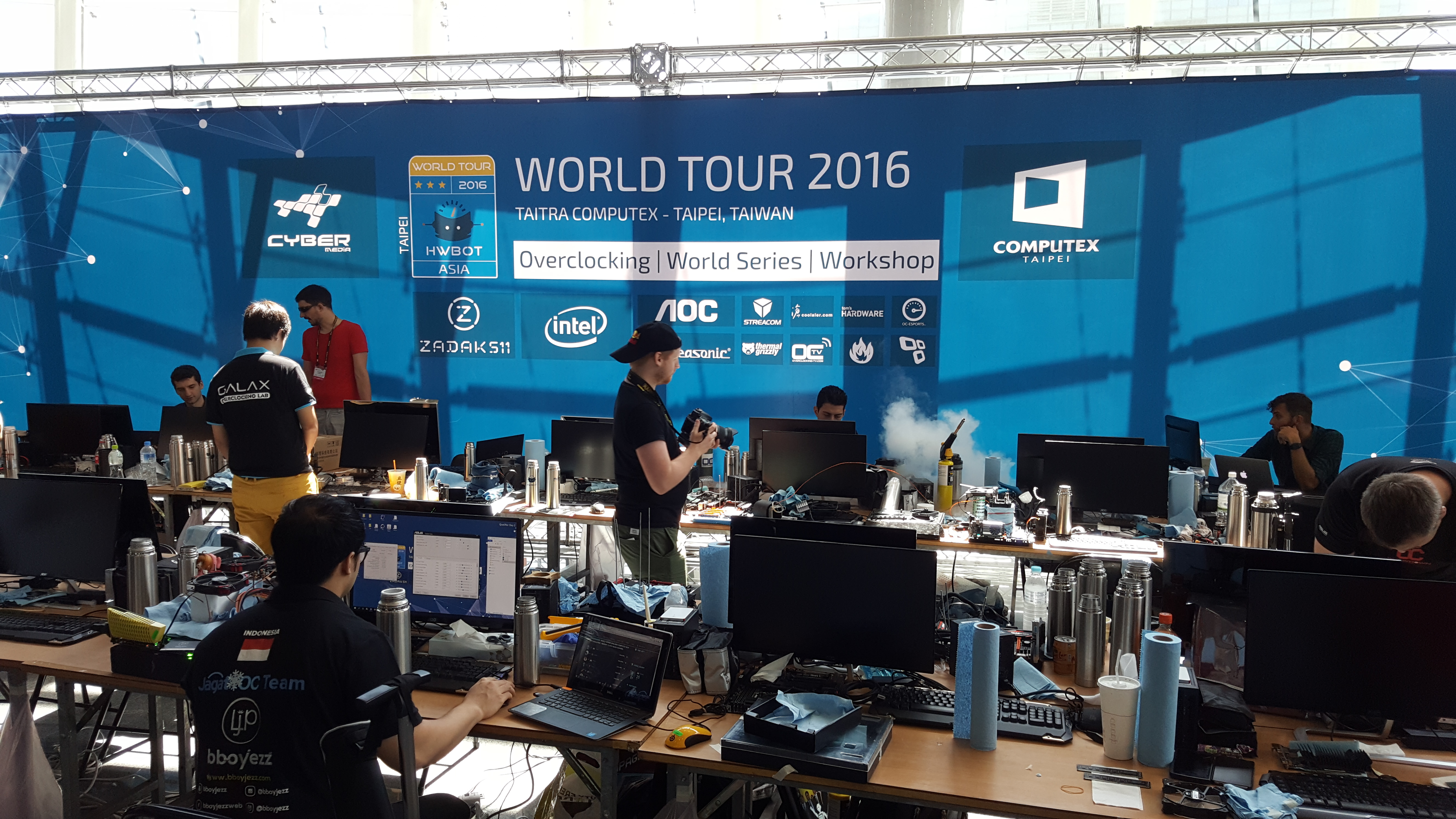 Taking a crash course in overclocking with the pros at HWBot