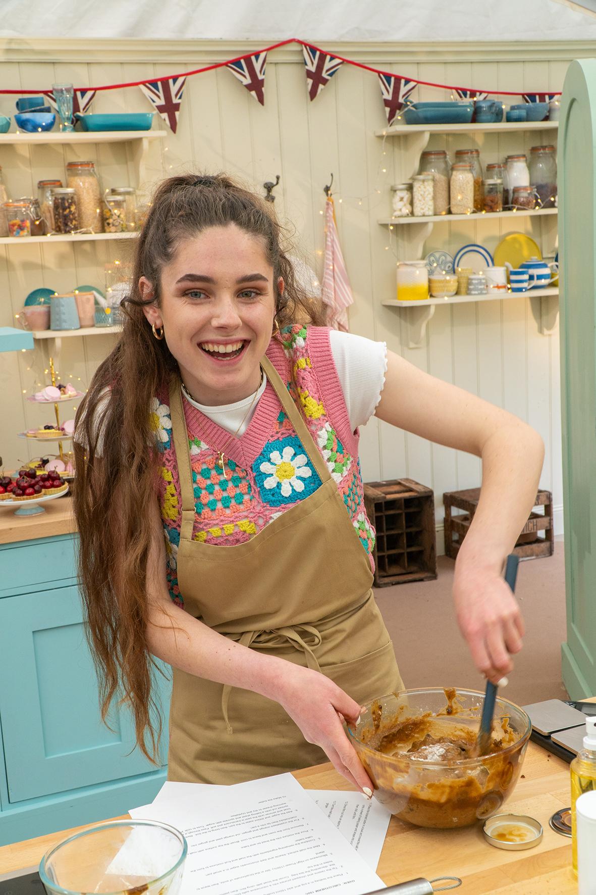 Freya The Great British Bake Off