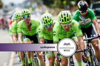 Alan Marangoni working hard in his domestique's roll for Cannondale