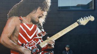 Paul Archer has painted an EVH mural