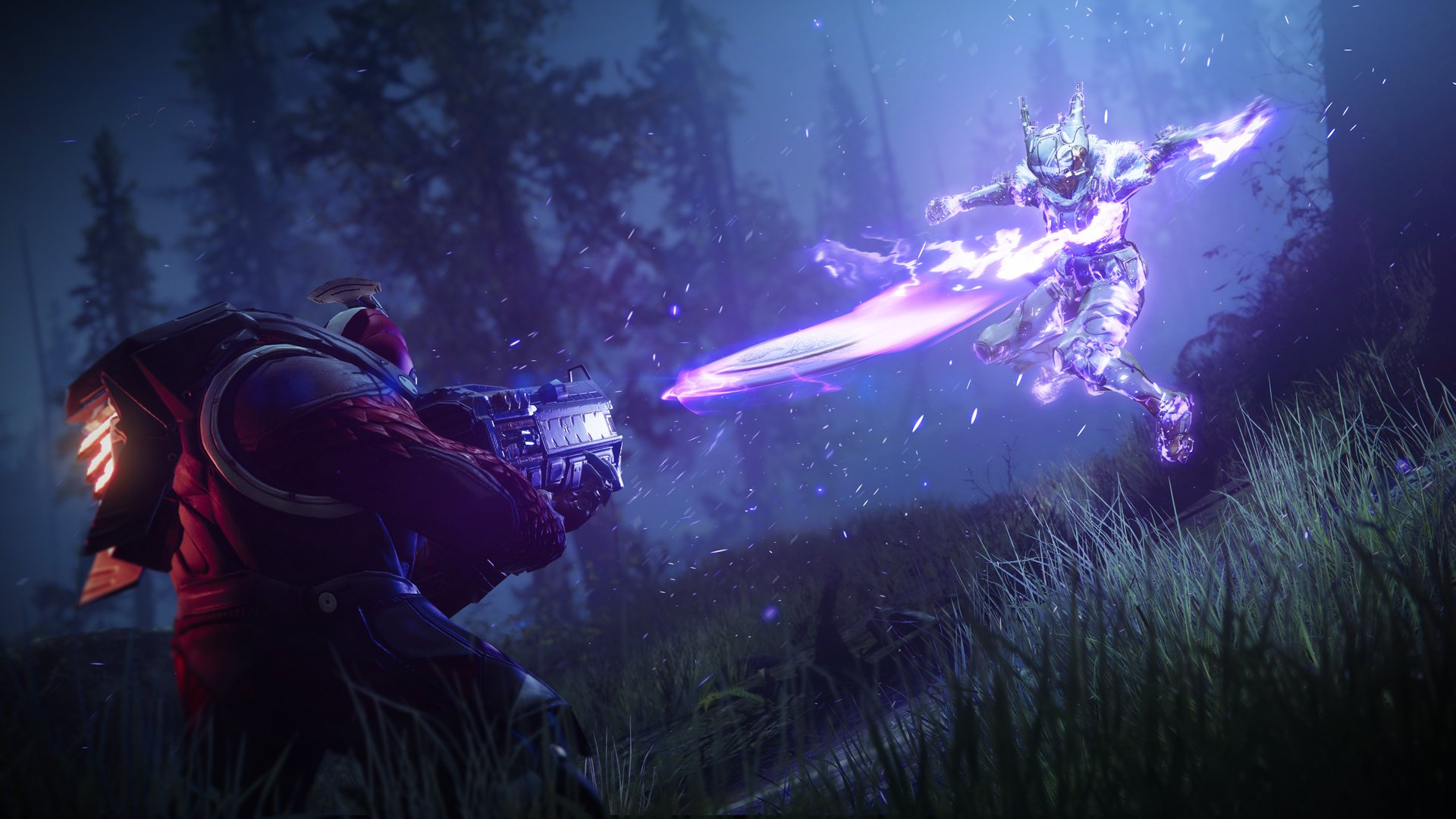 Screenshots from Destiny 2's reworked void subclasses.