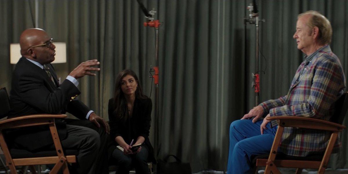 Bill Murray and Al Roker in Zombieland: Double Tap