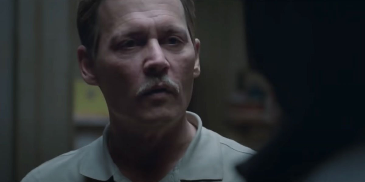 a mustachioed Johnny Depp, City of Lies