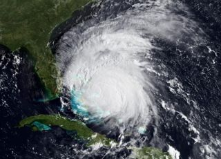 Hurricane Irene on Aug. 25