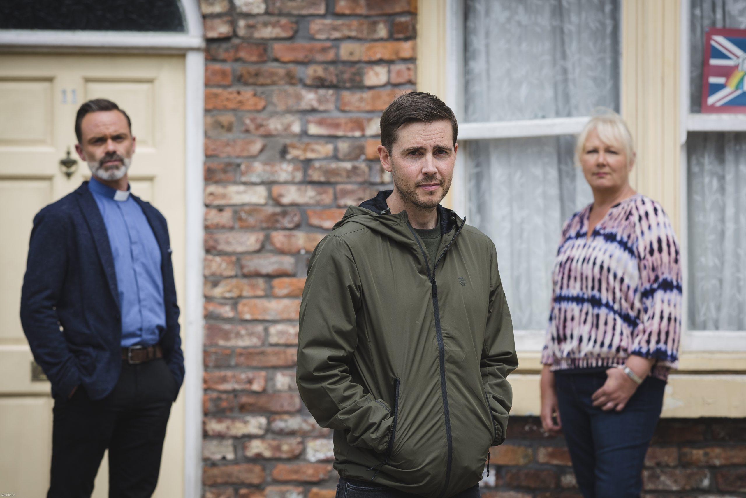 El nuevo Todd Grimshaw de Coronation Street con Billie y Eileen
