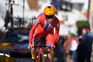 LAGOA PORTUGAL FEBRUARY 23 Andreas Leknessund of Norway and UnoX Norwegian Development Team during the 46th Volta ao Algarve 2020 Stage 5 a 203km Individual Time Trial stage from Lagoa to Lagoa ITT VAlgarve2020 on February 23 2020 in Lagoa Portugal Photo by Tim de WaeleGetty Images