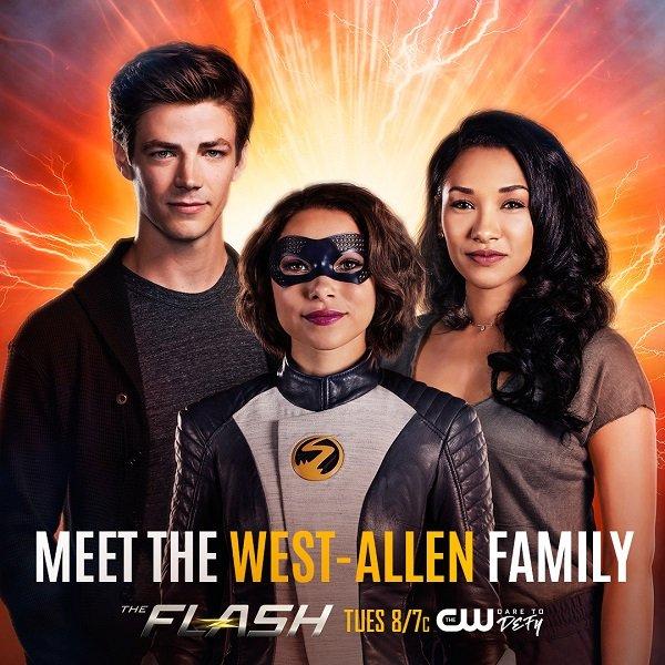 Barry Nora Iris The Flash Via CW
