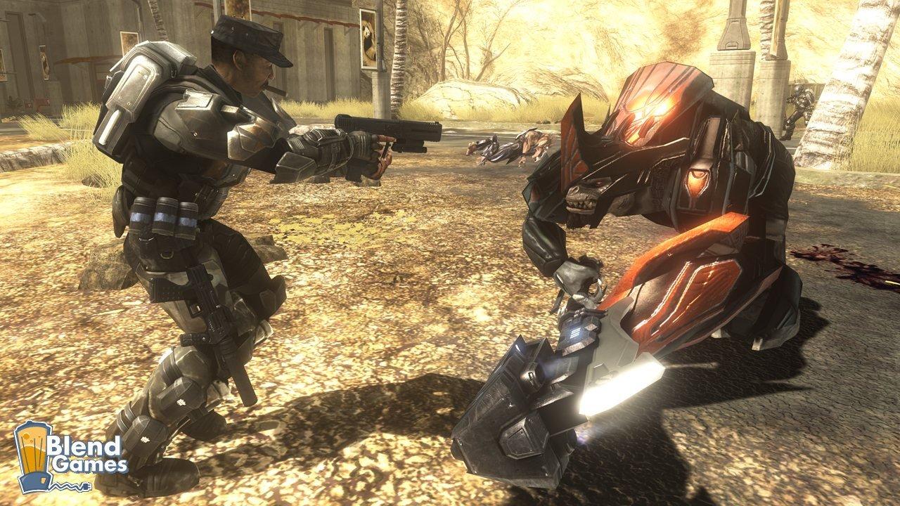 Halo 3: ODST Pre-Order Bonus And Screenshots #8203