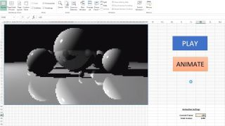 Raytracing in Excel