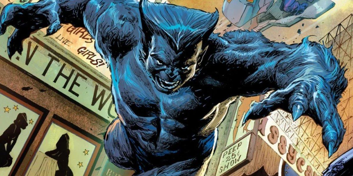 Hank McCoy is Beast from X-Men