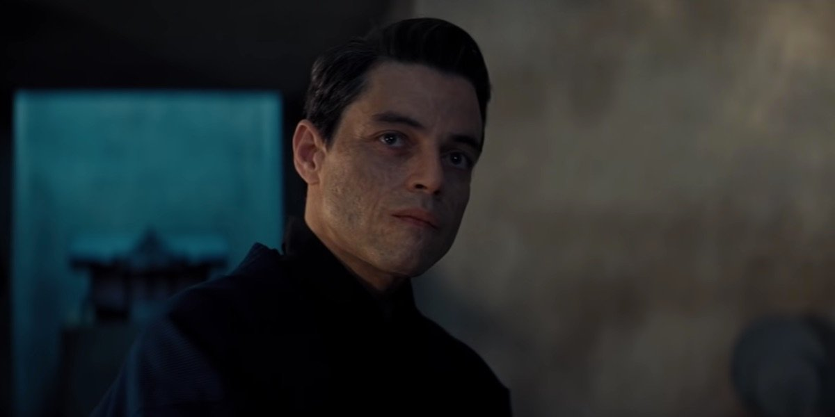 Rami Malek in No Time to Die