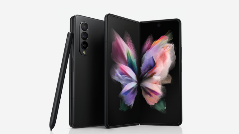 Samsung Galaxy Z Fold 3 leaked official image