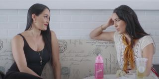 Brie and Nikki Bella before their pregnancies