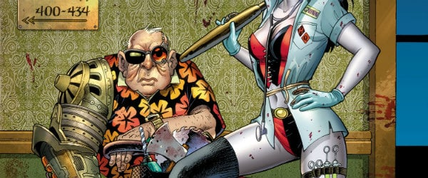 Sy Borgman DC Comics