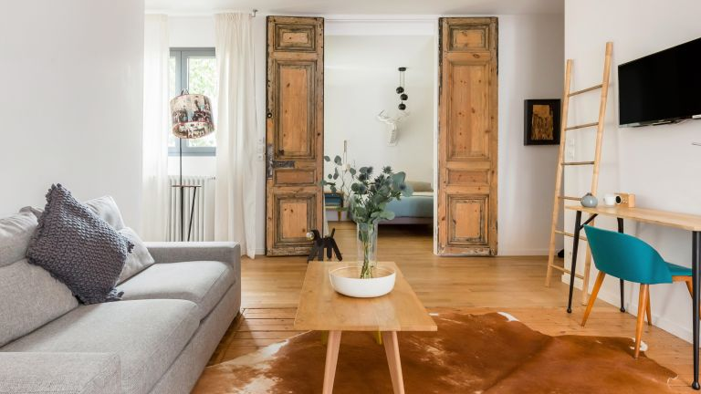 French Airbnb with beautiful interiors