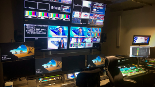 NewsMax control room