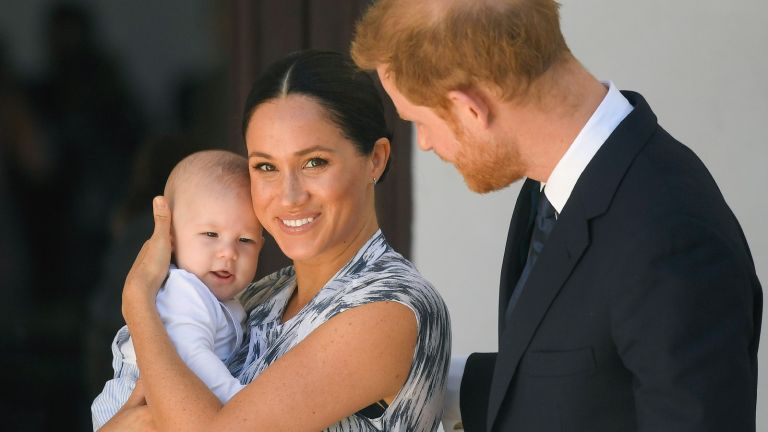 Will Archie ever be a prince? Archie Harrison Mountbatten-Windsor with Meghan Markle and Prince Harry