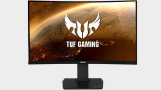 The Asus TUF Gaming VG32VQ is big, fast, and on sale $370 right now