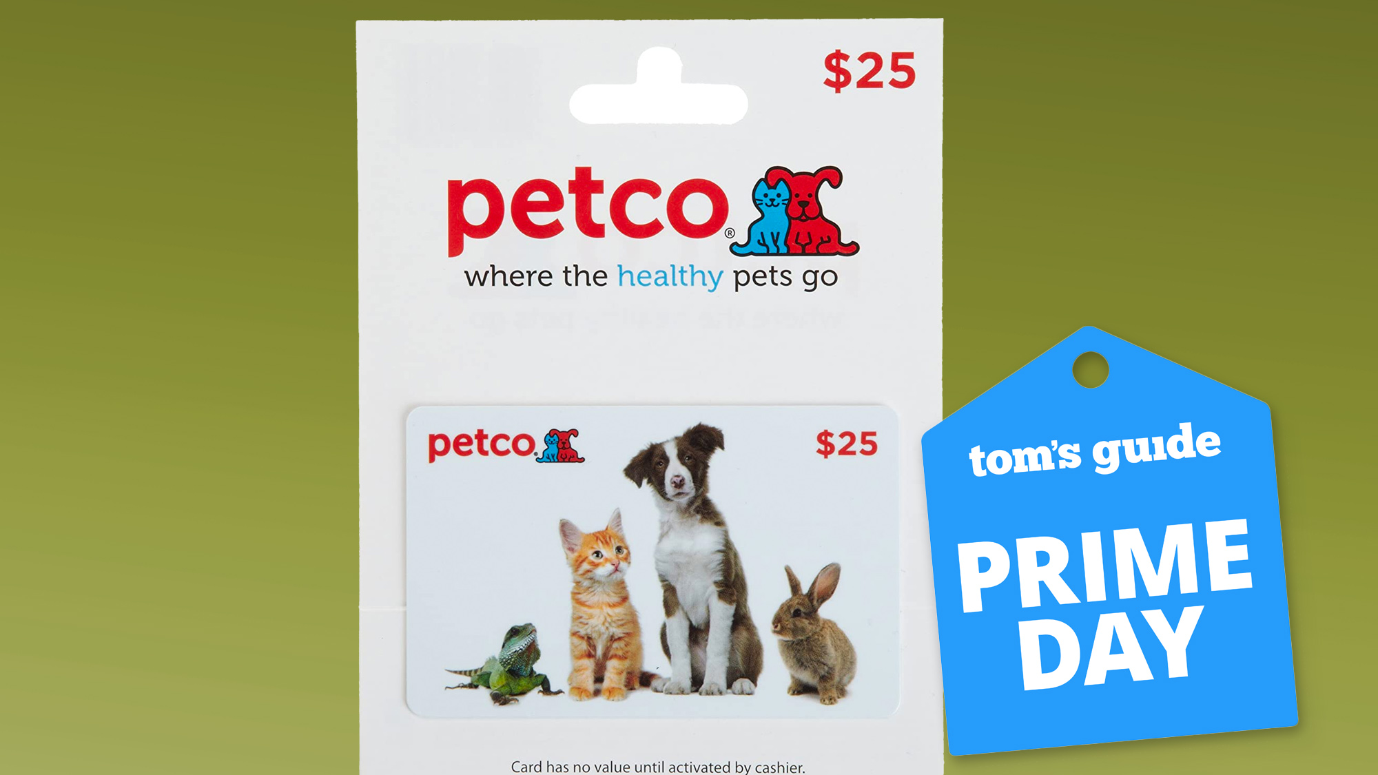 Petco Gift Card Prime Day deal
