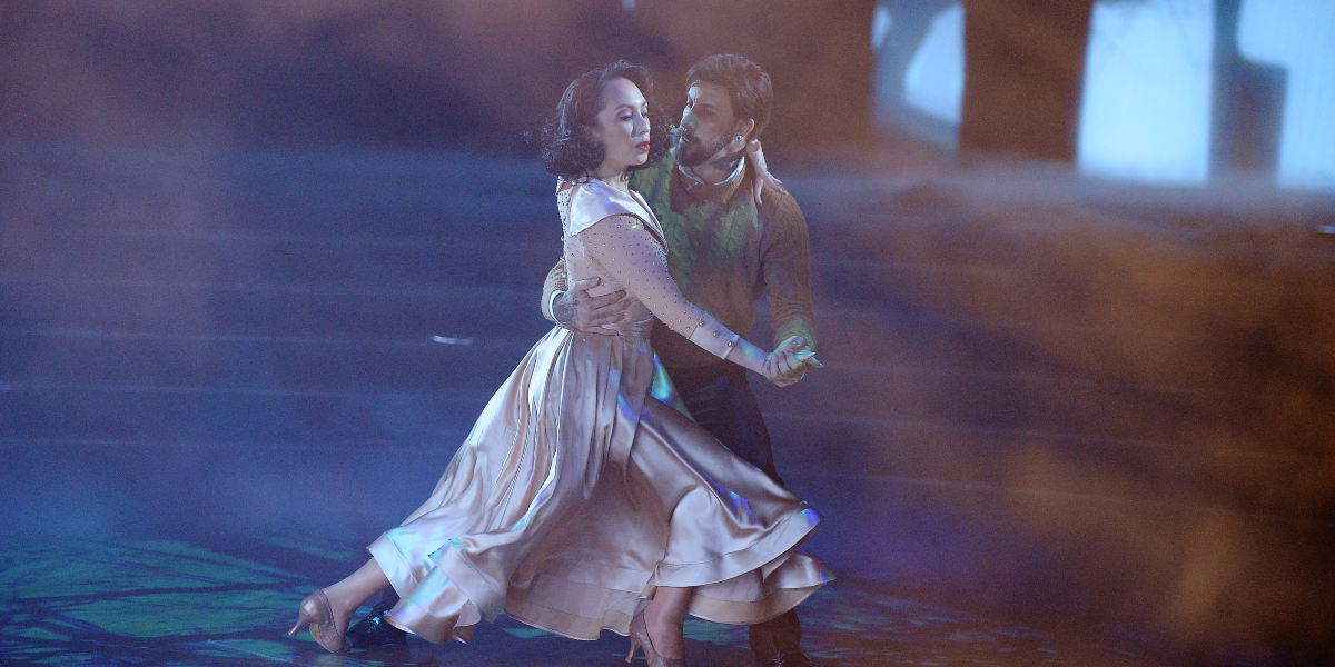 Dancing with the Stars Cheryl Burke AJ McLean ABC