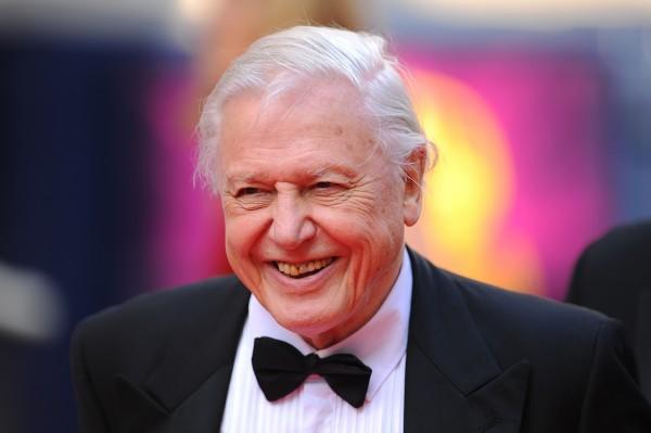 BBC personality Sir David Attenborough