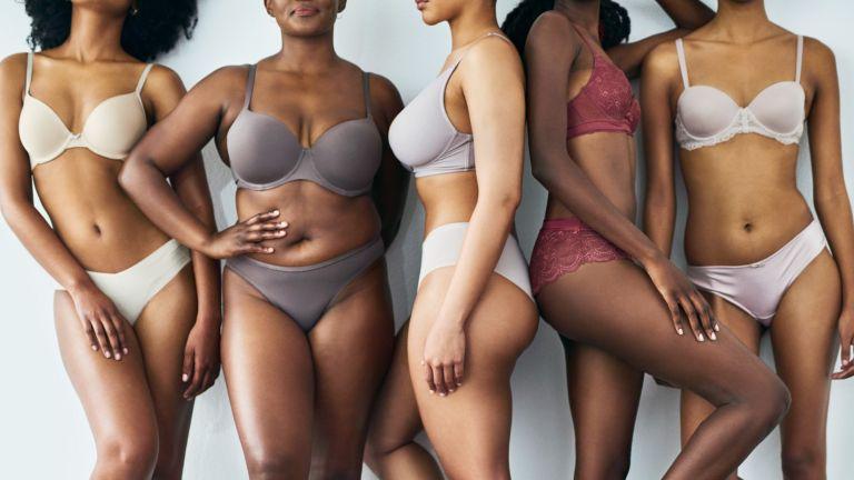 women in bras and knickers