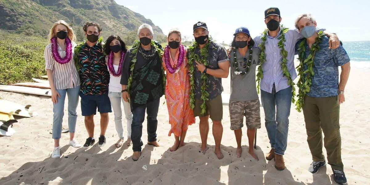 NCIS: Hawai'i cast and crew.
