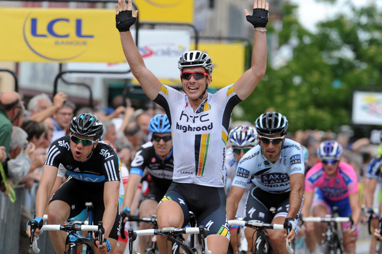 John Degenkolb wins, Criterium du Dauphine 2011, stage four