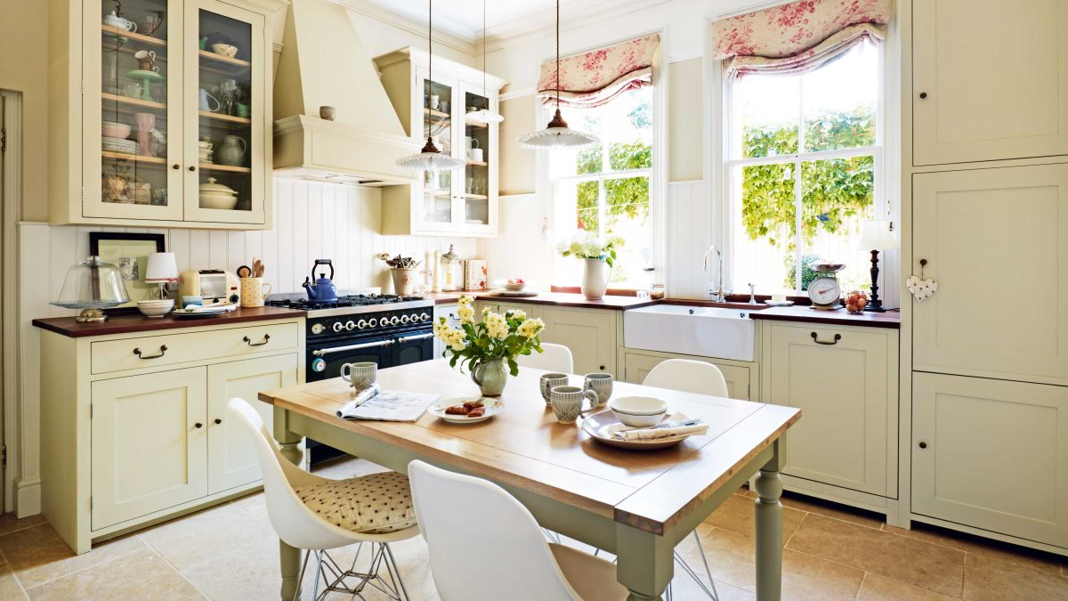 white victorian kitchen cabinets creating georgian and style kitchens real homes 29165