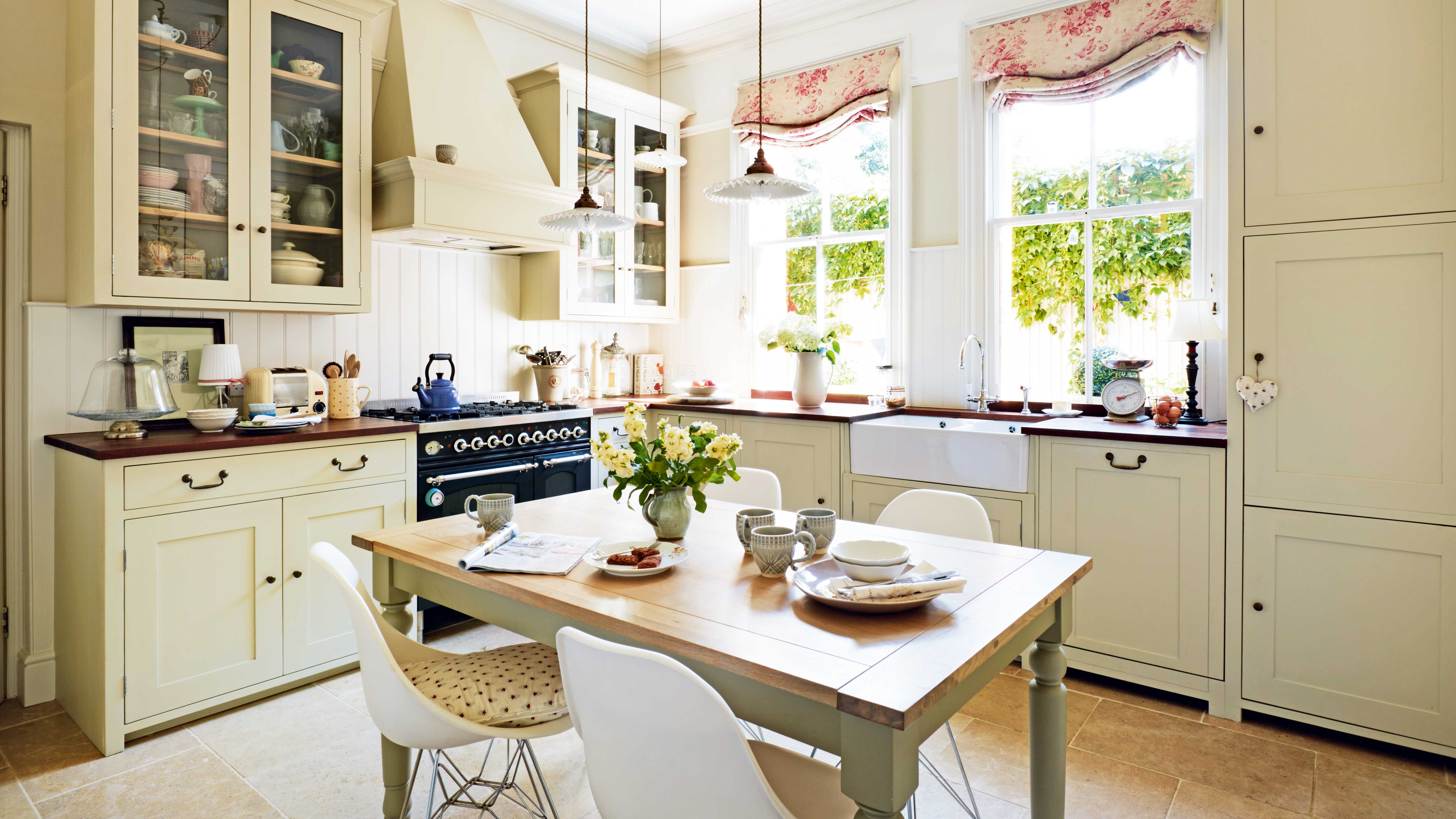 Creating Georgian and Victorian style kitchens | Real Homes