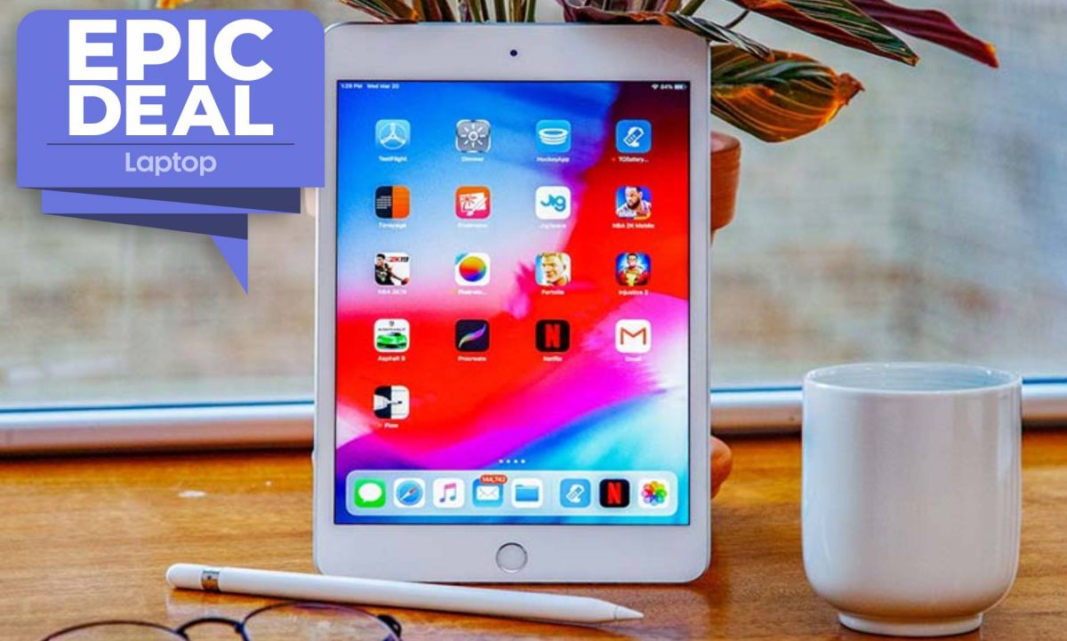 Forget the iPad mini 6 — the iPad mini 5 with 256GB of storage is on sale for $480