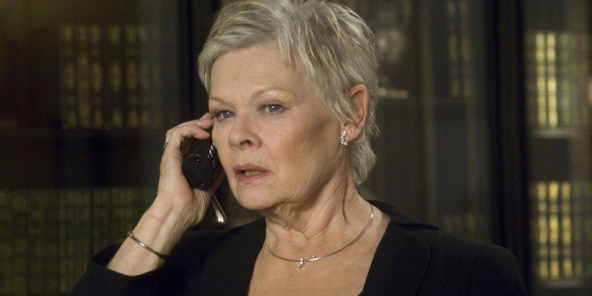 Judi Dench M in Bond movies