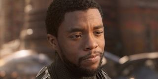 T'Challa (Chadwick Boseman) in 'Black Panther'