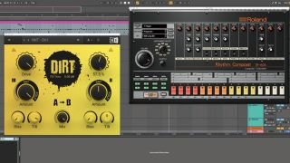 How to enhance drums with analogue-style distortion