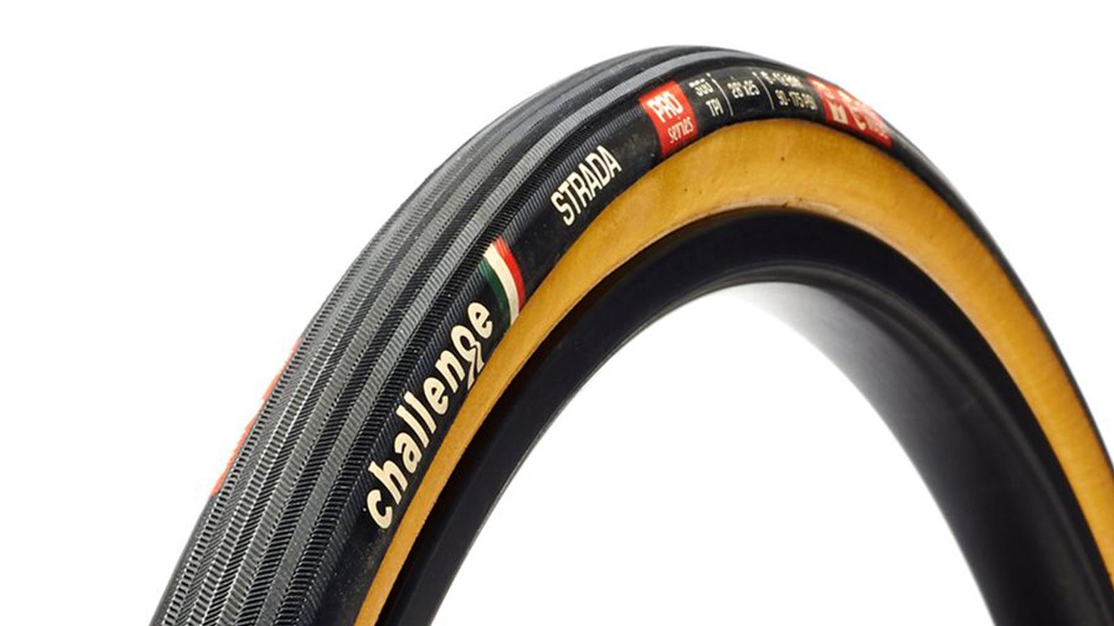 Best Road bike tyres: Challenge Strada Pro Tyres