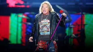 Axl Rose slams Trump's team for playing Guns N' Roses at political