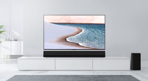 The Lg Gx Sound Bar Is An Expensive Audio Accessory For An Expensive Oled Tv Techradar