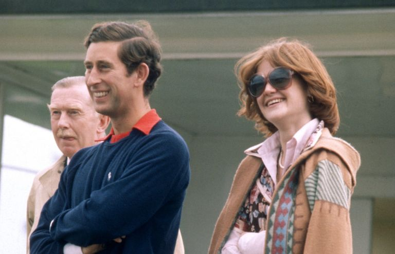Prince Charles and Diana's sister Sarah Spencer